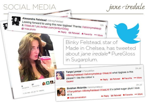 Made In Chelsea Loves Jane Iredale